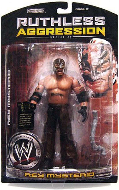 WWE Wrestling Ruthless Aggression Series 28 Rey Mysterio Action Figure