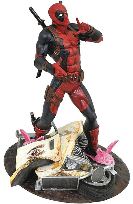 Marvel Gallery Deadpool 9-Inch Collectible PVC Statue [Taco Truck]