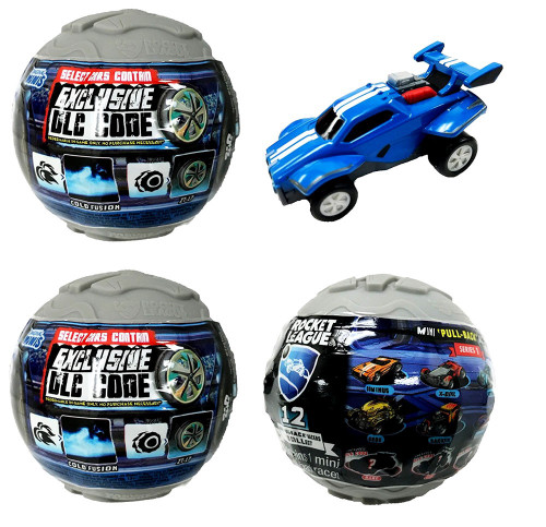 Pullback Racer Rocket League LOT of 3 Mystery Packs