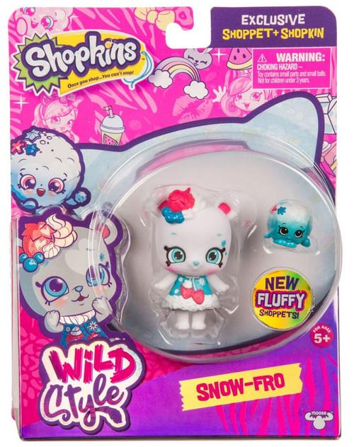 Shopkins Shoppets Season 9 Wild Style Snow-Fro Doll Figure