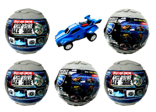 Pullback Racer Rocket League LOT of 5 Mystery Packs