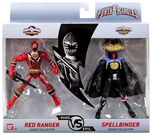 Power Rangers Good Vs. Evil Red Ranger vs. Spellbinder Action Figure 2-Pack