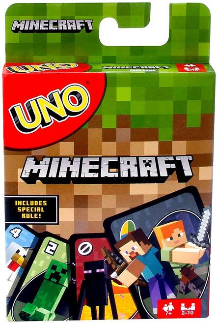 Minecraft UNO Card Game