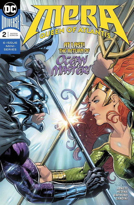 DC Mera Queen of Atlantis #2 Comic Book