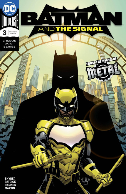 DC Batman and The Signal #3 Comic Book