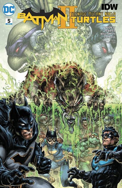 DC Batman / Teenage Mutant Ninja Turtles II #5 Comic Book