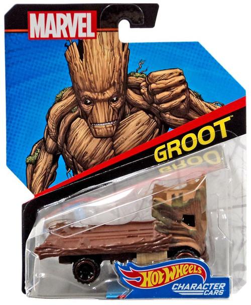 Hot Wheels Marvel Character Cars Groot Die-Cast Car