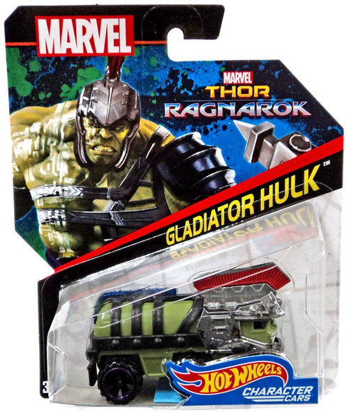 Hot Wheels Thor: Ragnarok Character Cars Gladiator Hulk Die-Cast Car