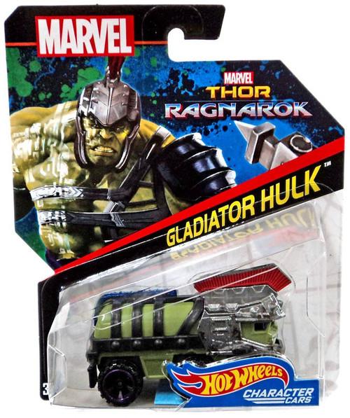 Hot Wheels Thor: Ragnarok Character Cars Gladiator Hulk Die-Cast Car
