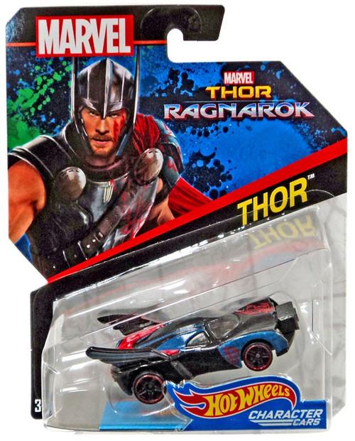 Hot Wheels Thor: Ragnarok Character Cars Thor Die-Cast Car