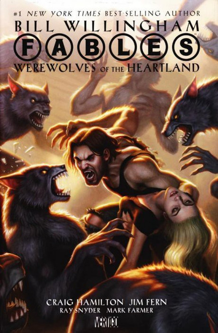Vertigo Fables: Werewolves of the Heartland Hardcover Comic Book