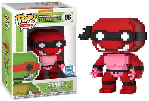 Funko Teenage Mutant Ninja Turtles POP! 8-Bit Neon Raphael Exclusive Vinyl Figure