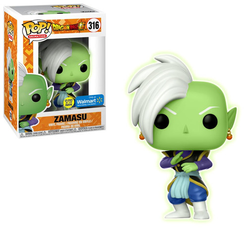 Funko Dragon Ball Super POP! Animation Zamasu Exclusive Vinyl Figure #316 [Glow-in-the-Dark]