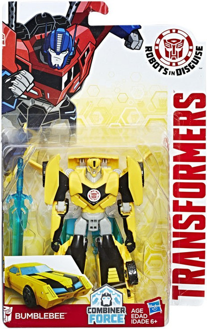 Transformers Robots in Disguise Bumblebee Warrior Action Figure [Combiner Force]