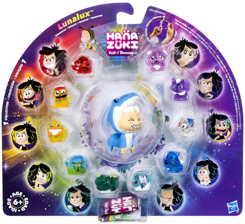Hanazuki Full of Treasures Lunalux Animals 10-Pack