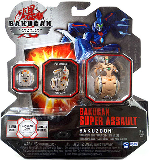 Bakugan Gundalian Invaders Super Assault Sub Terra BakuZoon [Brown]