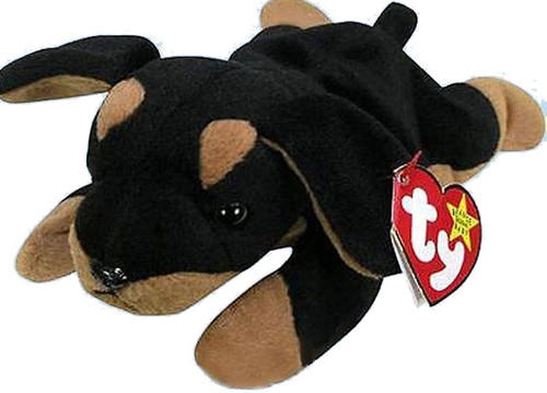 Beanie Babies McDonalds 1998 Doby the Dog Teenie Beanie Plush #1