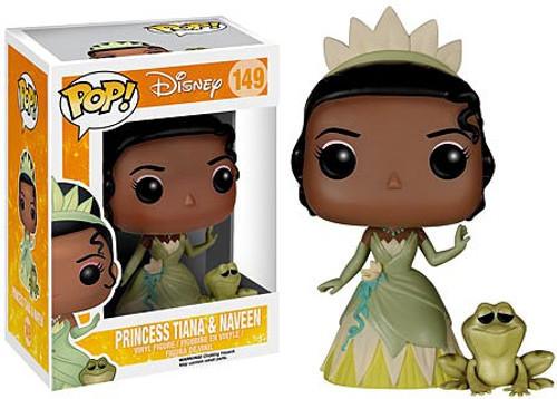 Funko The Princess & The Frog POP! Disney Princess Tiana & Naveen Vinyl Figure #149 [Damaged Package]