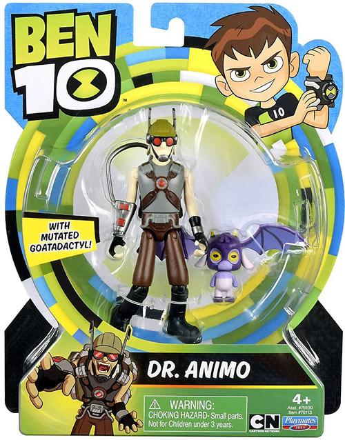 Ben 10 Basic Dr. Animo Action Figure [Mutated Goatadactyl, Damaged Package]