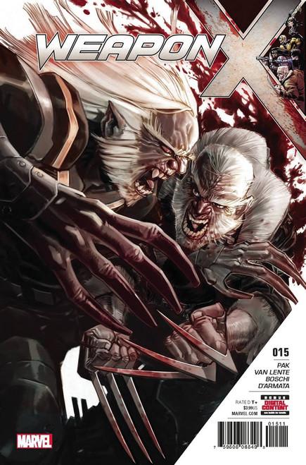 Marvel Comics Weapon X #15 Comic Book