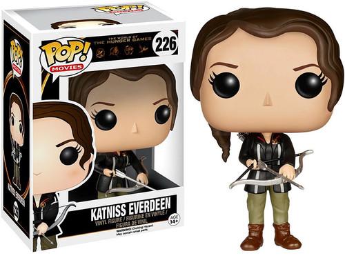 Funko The Hunger Games POP! Movies Katniss Everdeen Vinyl Figure #226 [Damaged Package]