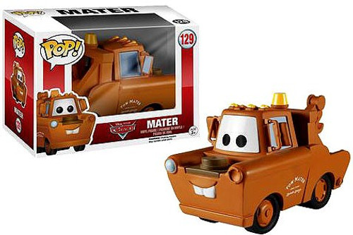 Funko Cars POP! Disney Mater Vinyl Figure #129 [Damaged Package]