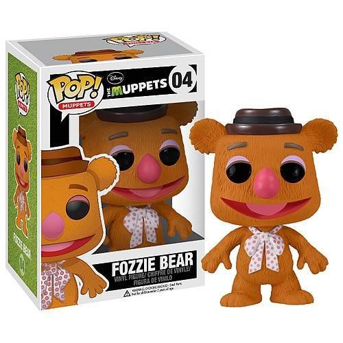 Funko The Muppets POP! TV Fozzie Bear Vinyl Figure #04 [Damaged Package]