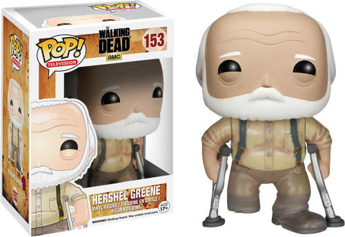 The Walking Dead Funko POP! TV Hershel Greene Vinyl Figure #153 [Damaged Package]