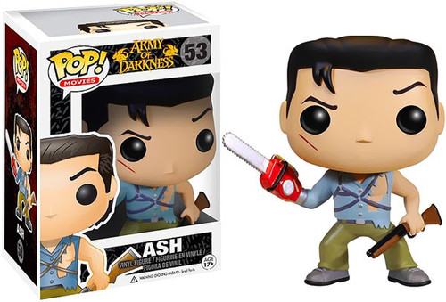 Funko Evil Dead Army of Darkness POP! Movies Ash Vinyl Figure #53 [Damaged Package]