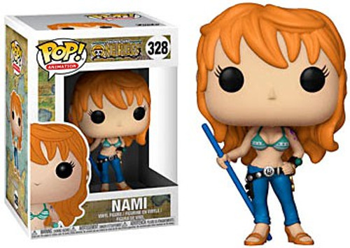 Funko One Piece POP! Anime Nami Vinyl Figure #328 [Damaged Package]