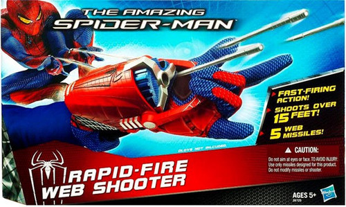 The Amazing Spider-Man Rapid Fire Web Shooter Roleplay Toy [Damaged Package]
