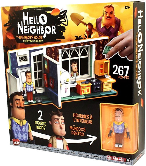 McFarlane Toys Hello Neighbor Neighbor's House Construction Set