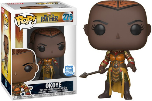 Funko Marvel Universe Black Panther POP! Marvel Okoye Exclusive Vinyl Figure #275