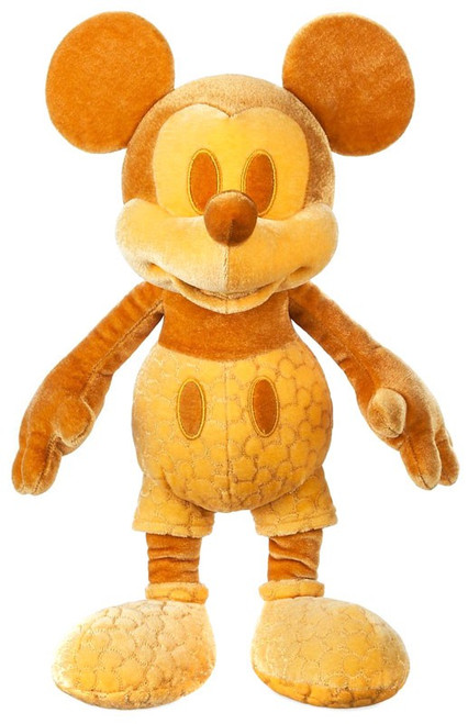 Disney Mickey Mouse Memories Mickey Mouse Exclusive 15-Inch Plush #2/12 [Gold]