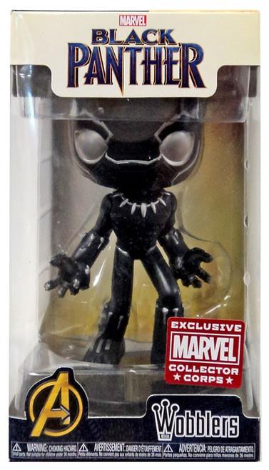 Funko Marvel Wacky Wobbler Black Panther Exclusive Bobble Head