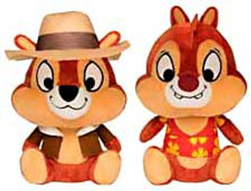 Funko Disney Afternoon Cartoon Chip & Dale Set of Both Plush