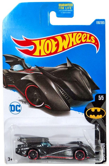 Hot Wheels Batman Brave & The Bold Batmobile Diecast Car DTY49 [5/5]