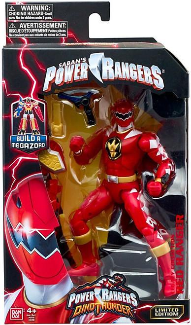 Power Rangers Dino Thunder Legacy Build A Megazord Red Ranger Action Figure [DT]
