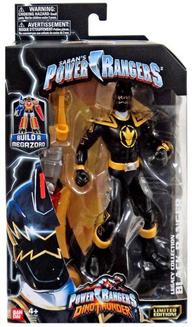 Power Rangers Dino Thunder Legacy Build A Megazord Black Ranger Action Figure [DT]