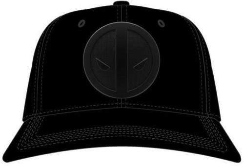 Marvel Deadpool Metal Badge Snapback Cap