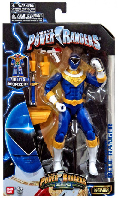 Power Rangers Zeo Legacy Build A Megazord Blue Ranger Action Figure [Zeo]
