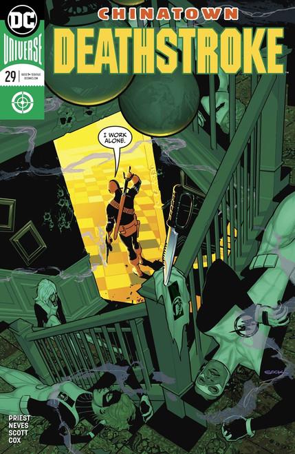 DC Deathstroke #29 Comic Book