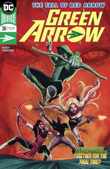 DC Green Arrow #38 Comic Book