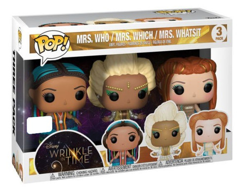 Funko A Wrinkle in Time POP! Disney Mrs. Who, Mrs. Which & Mrs. Whatsit Exclusive Vinyl Figure