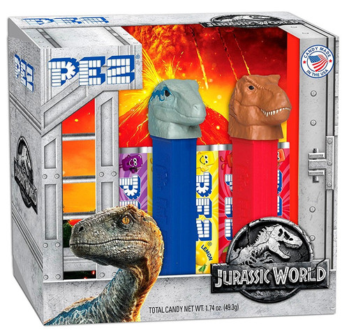 Pez Jurassic World Random Styles PEZ Dispenser 2-Pack Gift Set