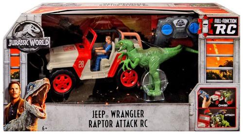 Jurassic World Jeep Wrangler Raptor Attack R/C Vehicle