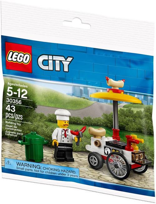 LEGO City Hot Dog Stand Mini Set #30356
