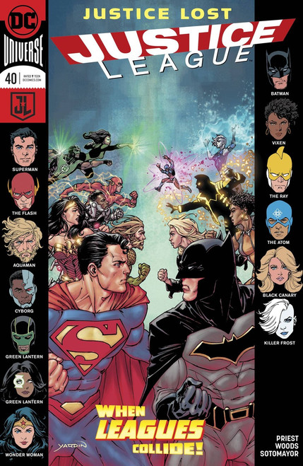 DC Justice League #40 Comic Book