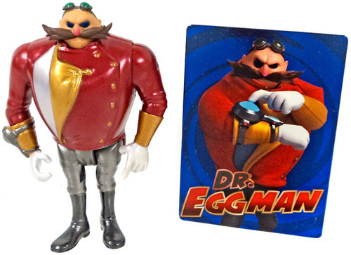 Sonic The Hedgehog Sonic Boom Dr. Eggman Action Figure [Metallic Loose]