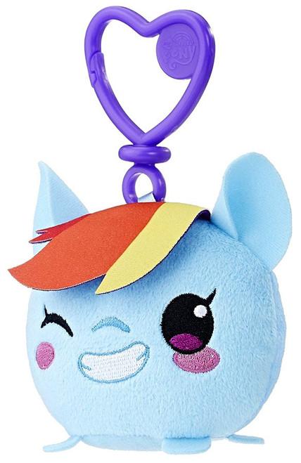 My Little Pony Friendship is Magic Rainbow Dash Plush Clip On